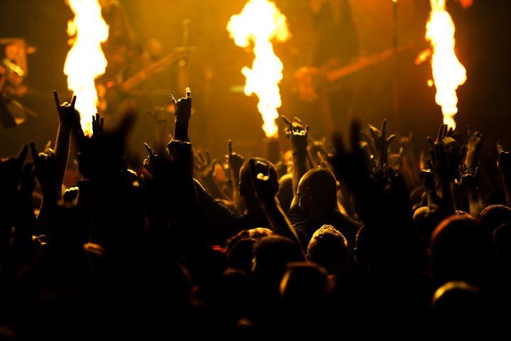 Photo of rock concert - maroti