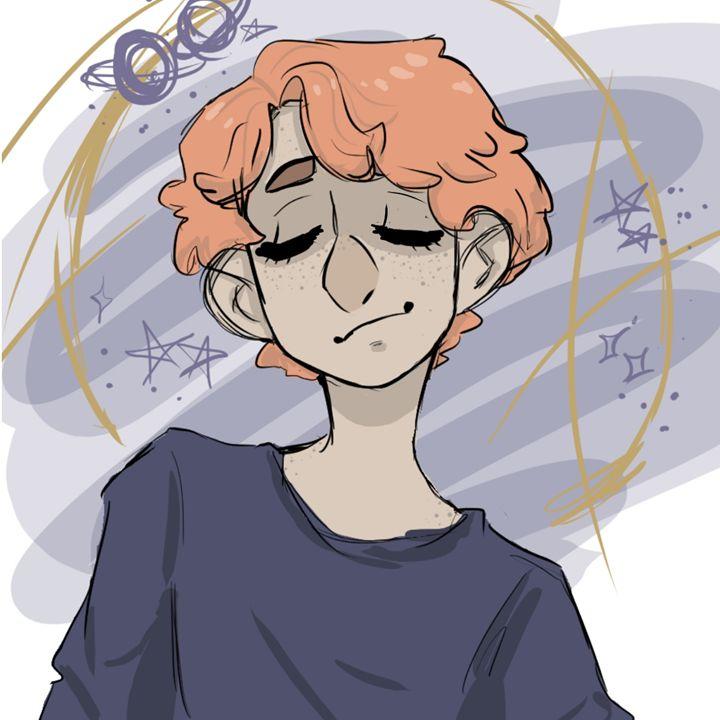 ginger boy portrait - Portraits