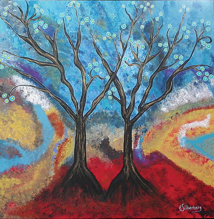 Two Trees - Elaine Silberberg