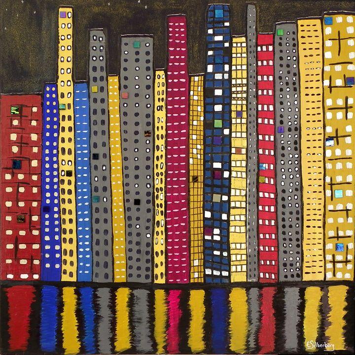 City Closeness - Elaine Silberberg