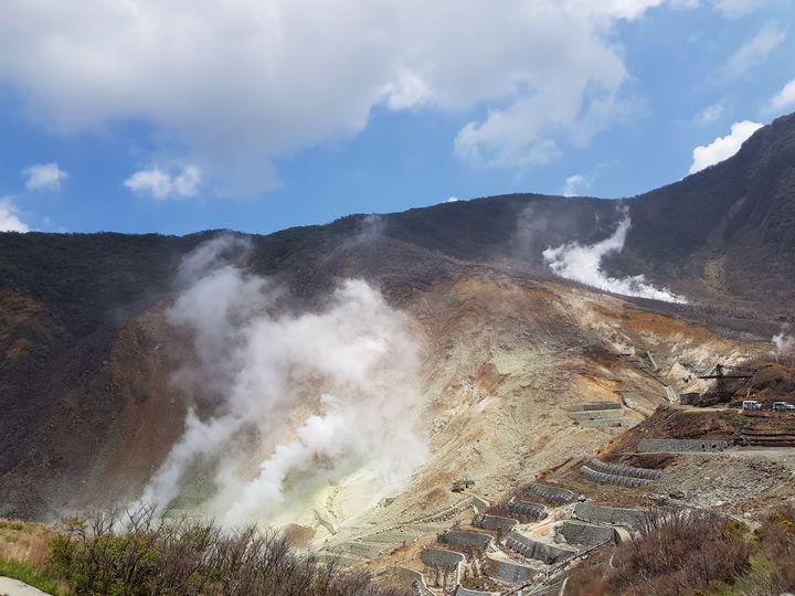 Sulfur clouds - Owakudani - Tiago Ferreira