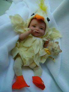 Little  happy chiken ,Ooak by bettym