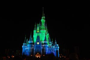 Green and Blue Castle