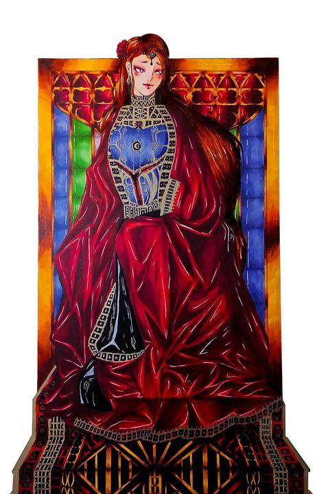 Paz, Holy Queen - Demian Draws