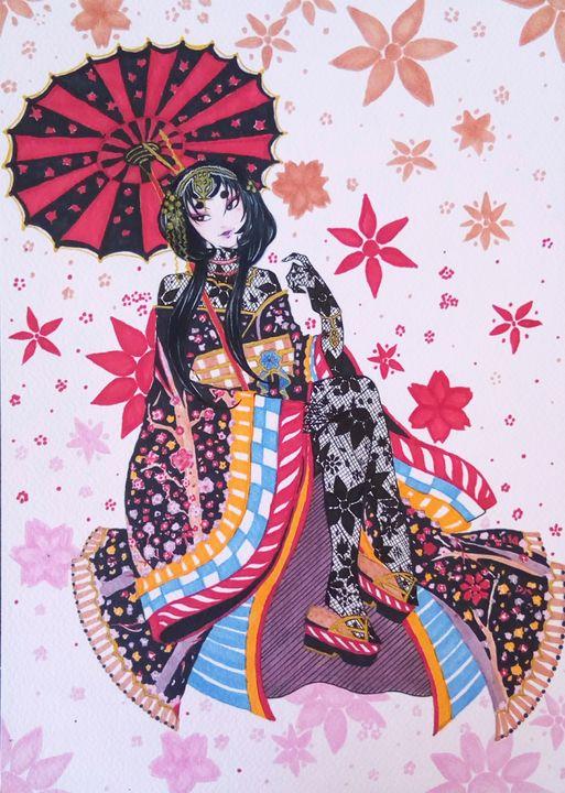 Hanae Amano - Demian Draws