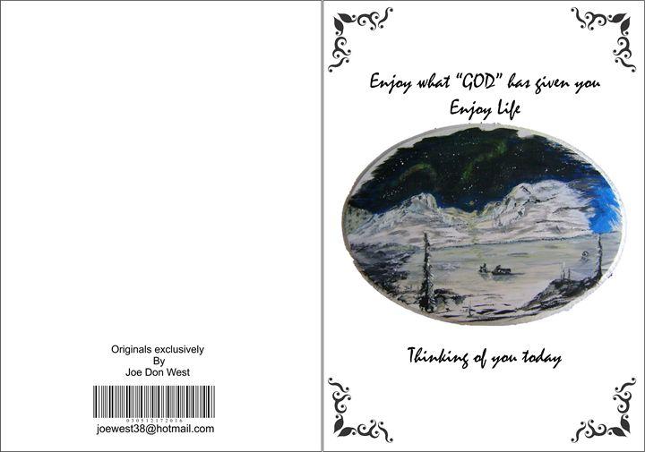 Greeting Card - Joe Don West