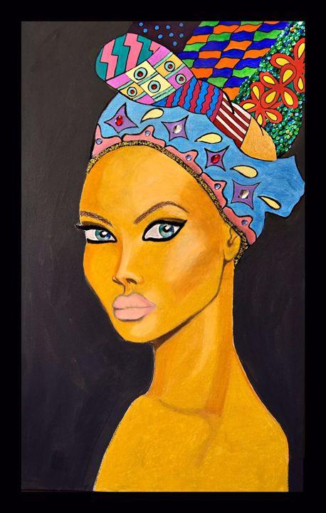 african woman - LysiaLu