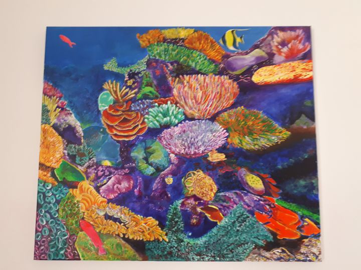 Coral reef - Saleha Hamza