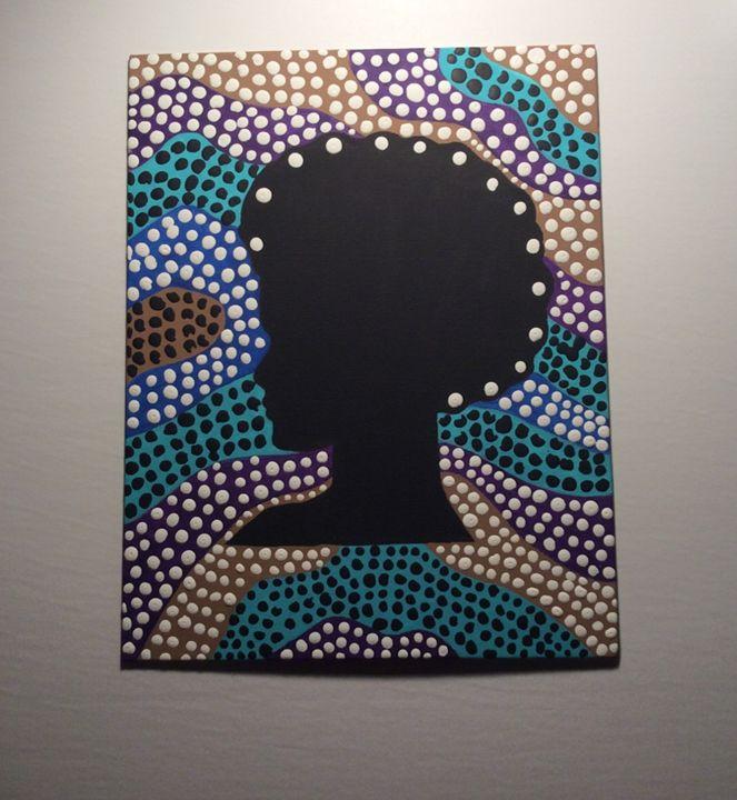 AFRO 2-Aboriginal Painting - PAIGEAI