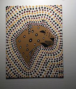 WILD CAT-Aboriginal Art