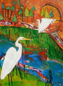 Great Egret - Simplygourdgeous