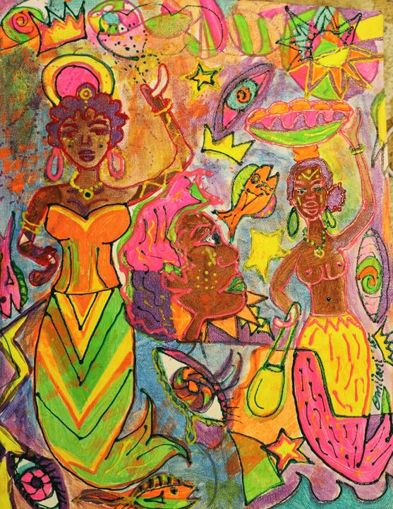 INNER-G. (energy) - Omilani Arts