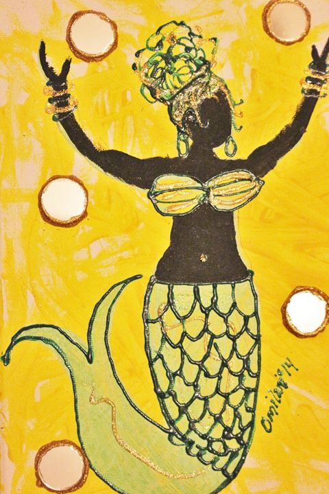 Reina del Agua (Queen of the Waters) - Omilani Arts