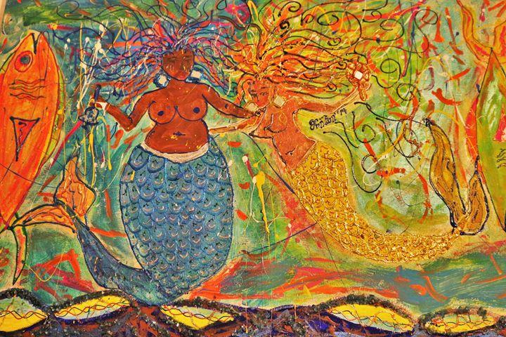 Yemoja & Osun - Omilani Arts