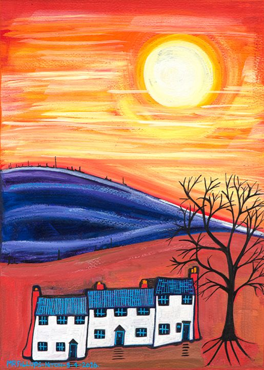 Cottage holiday - Mr Fillups Quirky Art