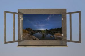 Watson Lake Moonlit - Behind the Shutter Photography