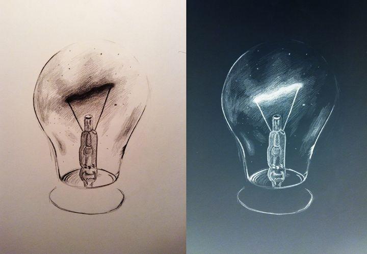 Lightbulb - Inverseart