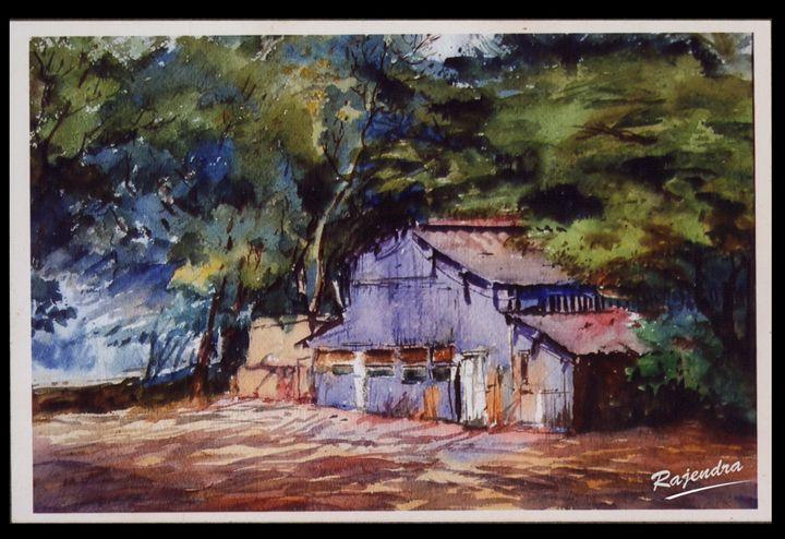 Village - Digwiraj Art Gallery