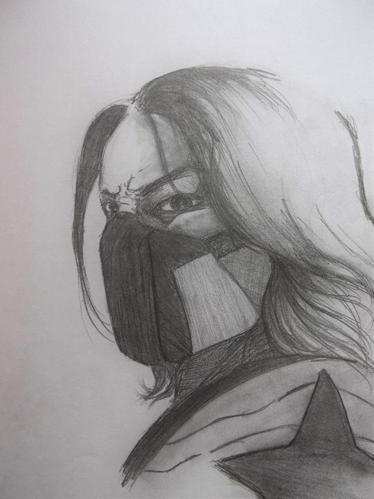 The Winter Soldier- Sebastian Stan - The Art of Wolves