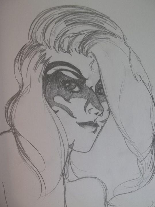 Wolf Girl - The Art of Wolves