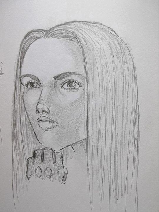 Natasha Romanoff Scarlett Johansson The Art Of Wolves