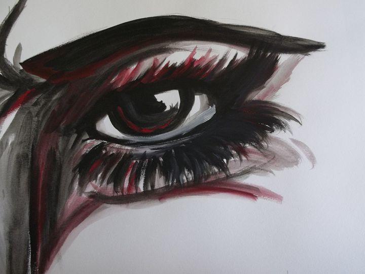 Eyes like Fire - The Art of Wolves
