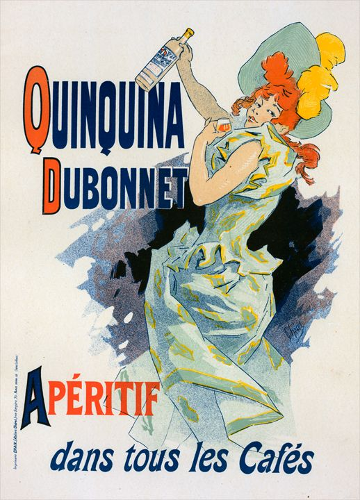 Poster for Quinquina Dubonnet - Liszt Collection