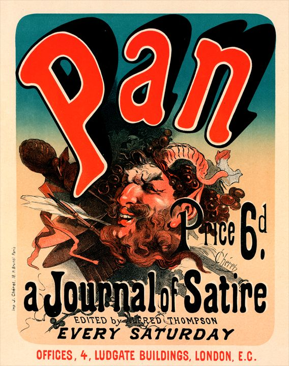 Poster for Pan. Chéret, Jules - Liszt Collection