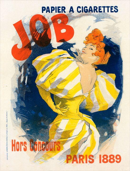 Poster for Papier à cigarettes Job - Liszt Collection