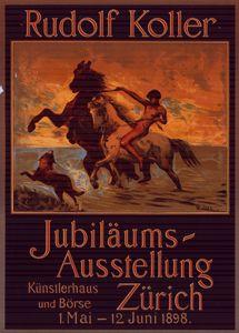 PosterJubiläums Ausstellung Zurich - Liszt Collection