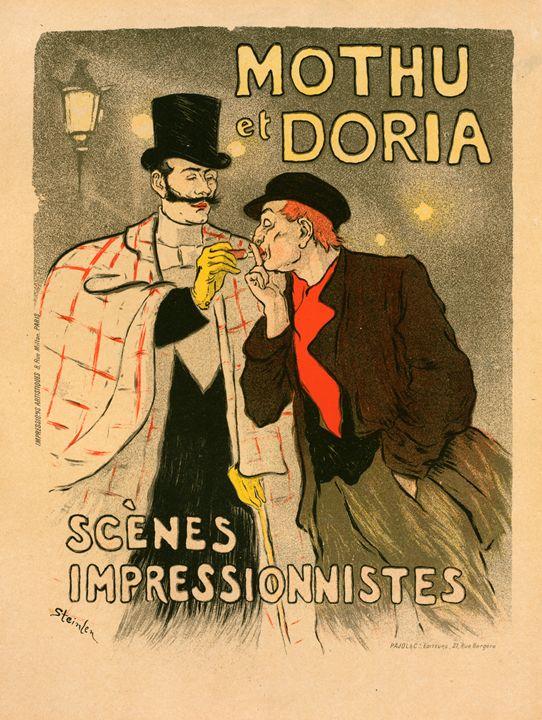 Poster les Scènes impressionistes - Liszt Collection