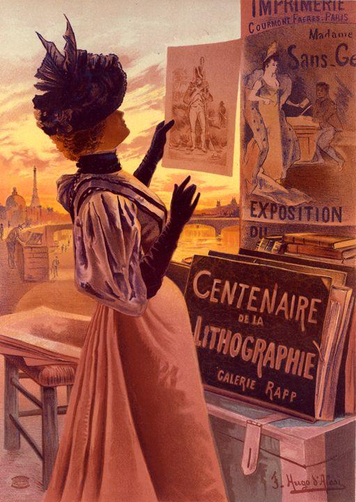 Poster l'Exposition du Centenaire - Liszt Collection