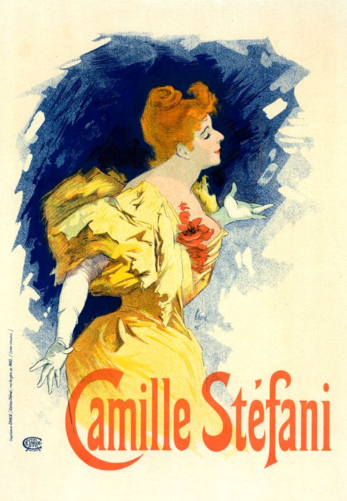 Poster for Mlle Camille Stéfani - Liszt Collection