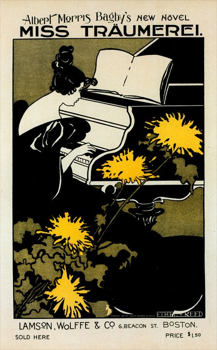 American poster Miss Träumerei - Liszt Collection