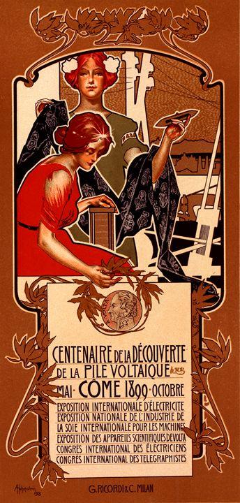 Italian poster for le Centenaire - Liszt Collection