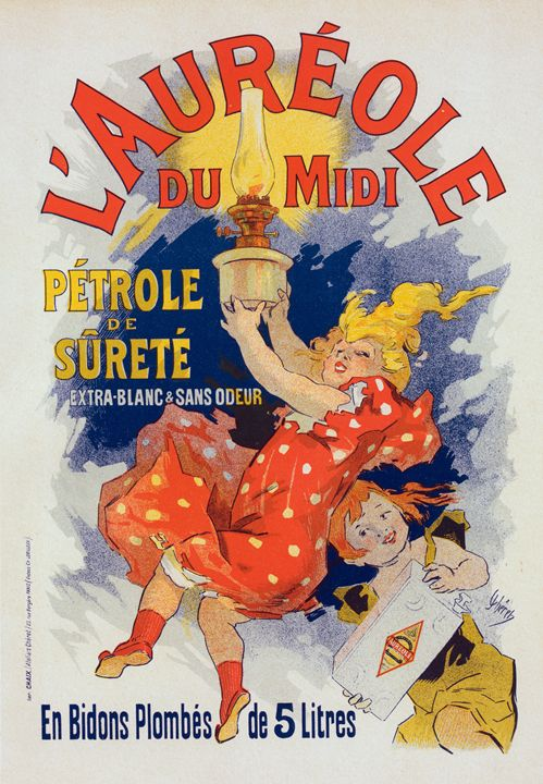 Poster for lAuréole du Midi. Chéret, - Liszt Collection