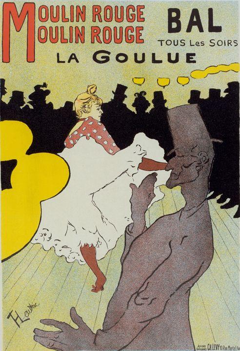 Poster for le Moulin Rouge la Goulue - Liszt Collection