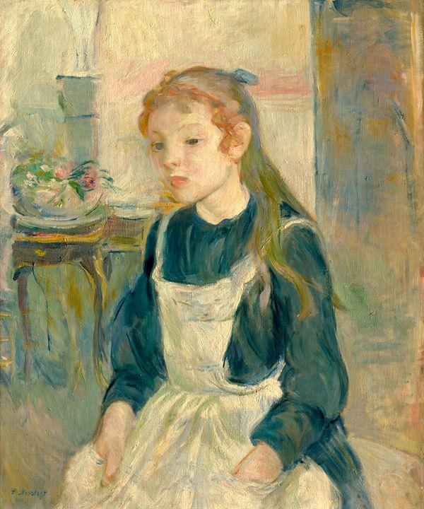 Young Girl, Berthe Morisot - Liszt Collection