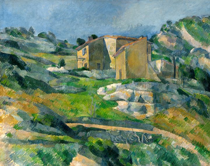 Houses in Provence, Paul Cézanne - Liszt Collection