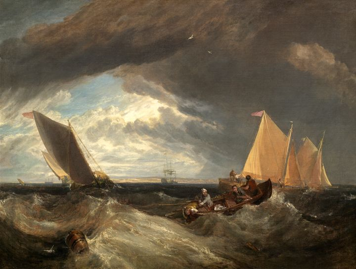 Thames and Medway, Turner - Liszt Collection