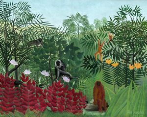 Henri Rousseau, Tropical Forest