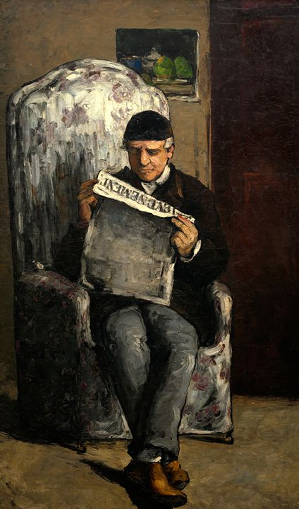 Paul Cézanne, French (1839-1906), Th - Liszt Collection