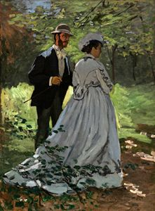 Bazille and Camille, Claude Monet