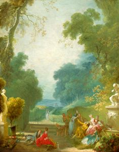 Game, Jean-Honoré Fragonard