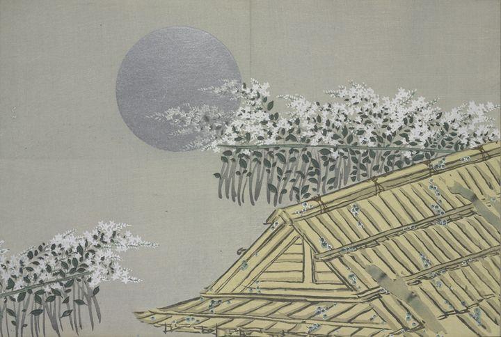 Momoyogusa Flowers Kamisaka Sekka - Liszt Collection