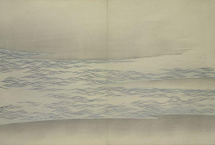 Momoyogusa Flowers by Kamisaka Sekka - Liszt Collection