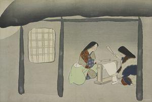 Kinuta, Kamisaka Sekka, Japan - Liszt Collection