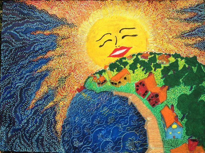 Happy SunRise - CurlyArt