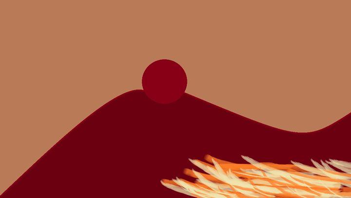 Red Cirle - MYke Art