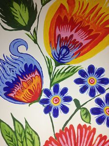 Celebrating life, Traditional flower